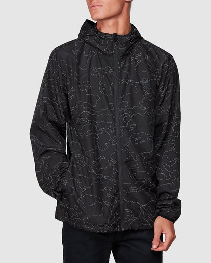 3 Transport Print Jacket Camo 9507914 Billabong