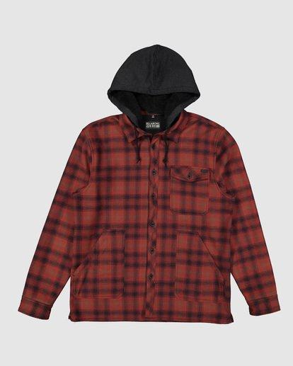 5 Furnace Bonded Shirt Red 9507916 Billabong