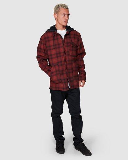 6 Furnace Bonded Shirt Red 9507916 Billabong
