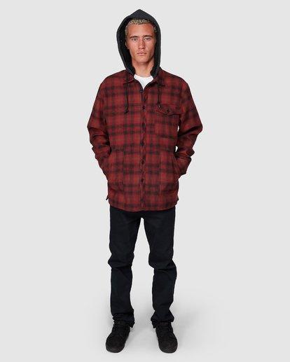 7 Furnace Bonded Shirt Red 9507916 Billabong