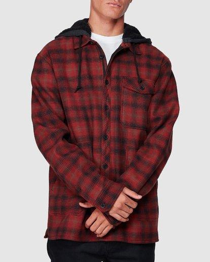 3 Furnace Bonded Shirt Red 9507916 Billabong