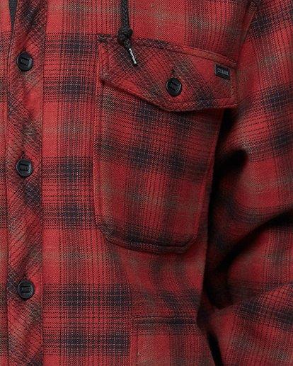4 Furnace Bonded Shirt Red 9507916 Billabong