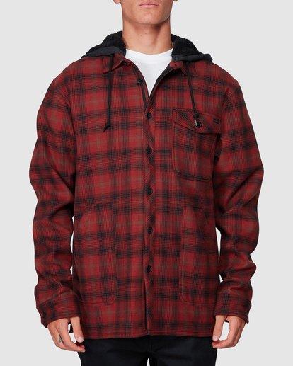 0 Furnace Bonded Shirt Red 9507916 Billabong