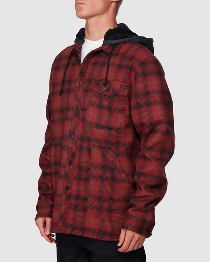 1 Furnace Bonded Shirt Red 9507916 Billabong