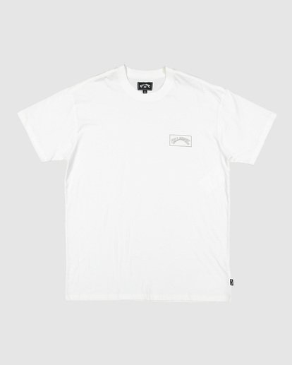 1 Checked Arch Short Sleeve Tee White 9508005 Billabong