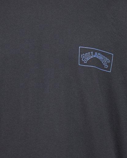 5 Checked Arch Short Sleeve Tee Black 9508005 Billabong