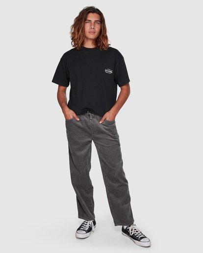 6 Surf Goods Short Sleeve Tee Black 9508006 Billabong