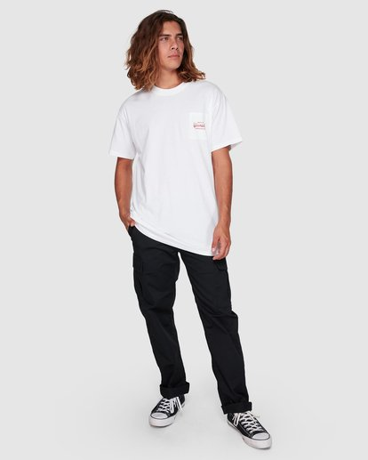 6 Surf Goods Short Sleeve Tee White 9508006 Billabong