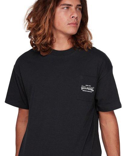 0 Surf Goods Short Sleeve Tee Black 9508006 Billabong