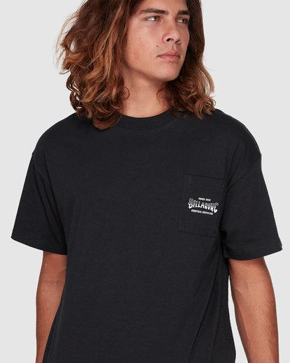 4 Surf Goods Short Sleeve Tee Black 9508006 Billabong