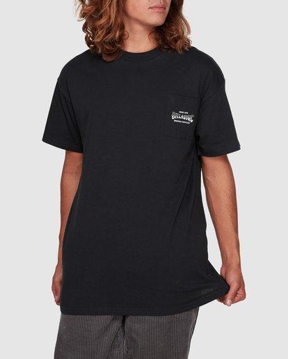 1 Surf Goods Short Sleeve Tee Black 9508006 Billabong