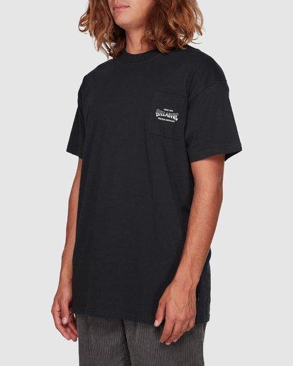 2 Surf Goods Short Sleeve Tee Black 9508006 Billabong