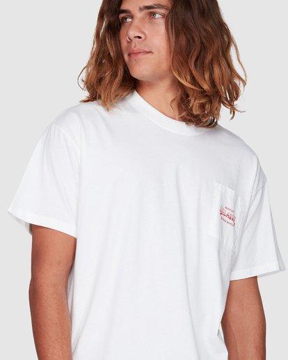 4 Surf Goods Short Sleeve Tee White 9508006 Billabong
