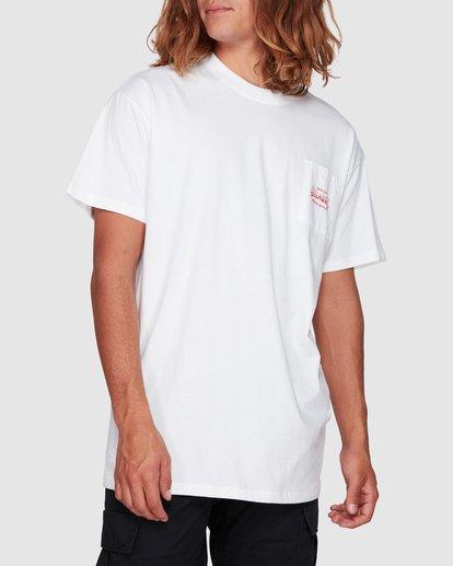 1 Surf Goods Short Sleeve Tee White 9508006 Billabong