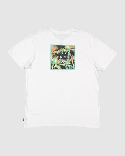 4 Stacked Short Sleeve Tee White 9508016 Billabong