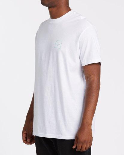 1 Stacked Short Sleeve Tee White 9508016 Billabong