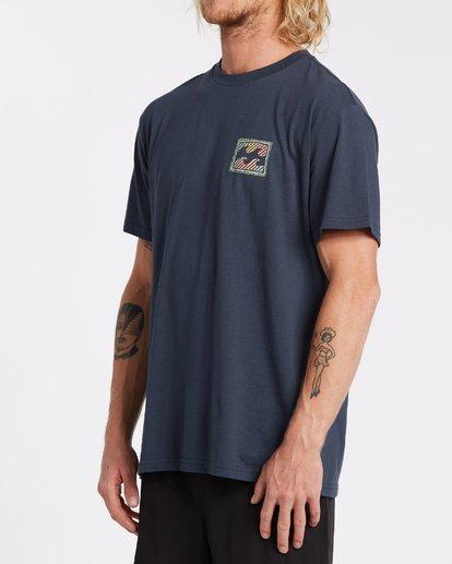2 Nosara Short Sleeve Tee Blue 9508017 Billabong