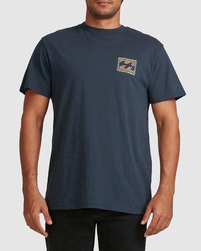 3 Nosara Short Sleeve Tee Blue 9508017 Billabong