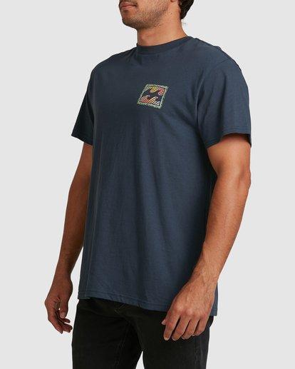 4 Nosara Short Sleeve Tee Blue 9508017 Billabong