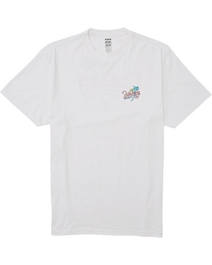 10 Surf Tour Short Sleeve Tee White 9508020 Billabong