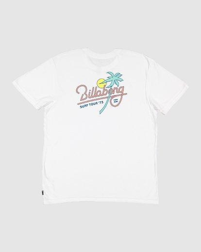 13 Surf Tour Short Sleeve Tee White 9508020 Billabong