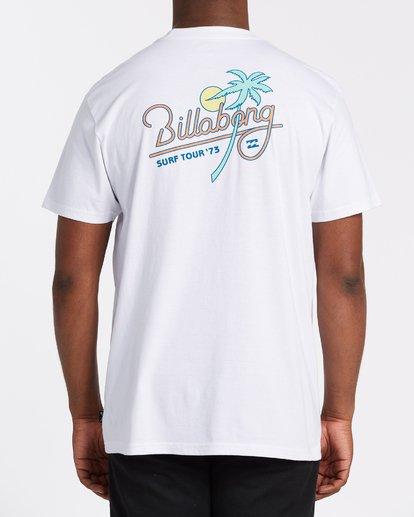 1 Surf Tour Short Sleeve Tee White 9508020 Billabong