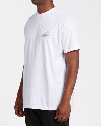 2 Surf Tour Short Sleeve Tee White 9508020 Billabong