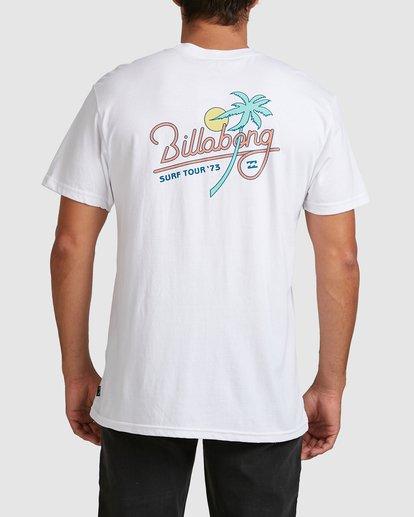 5 Surf Tour Short Sleeve Tee White 9508020 Billabong