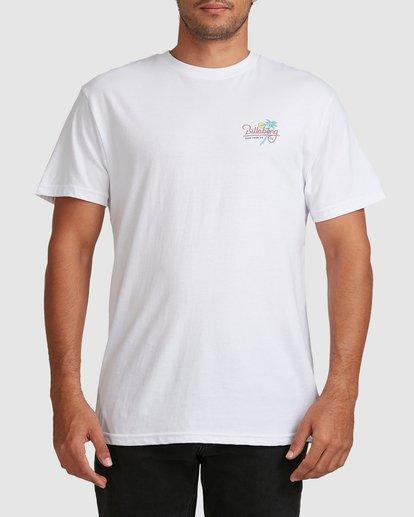 3 Surf Tour Short Sleeve Tee White 9508020 Billabong