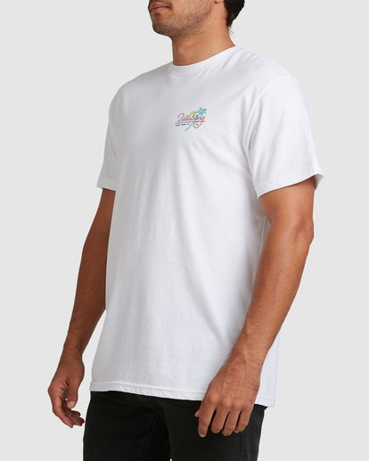 4 Surf Tour Short Sleeve Tee White 9508020 Billabong