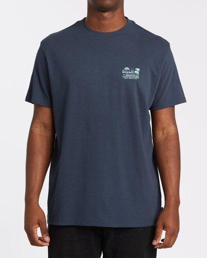 0 Lounge Short Sleeve Tee Blue 9508021 Billabong