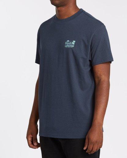 1 Lounge Short Sleeve Tee Blue 9508021 Billabong