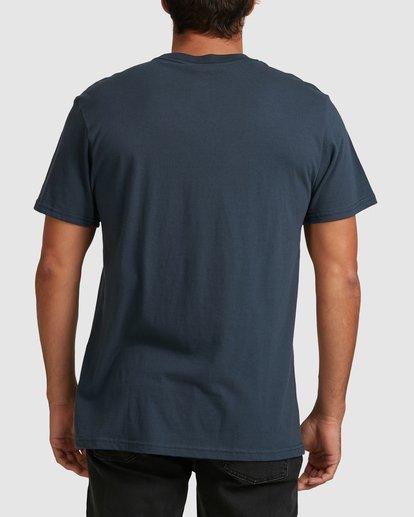 5 Scenic Short Sleeve Tee Blue 9508023 Billabong