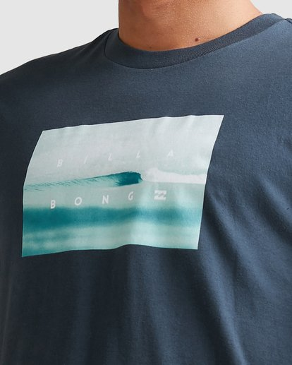 6 Scenic Short Sleeve Tee Blue 9508023 Billabong