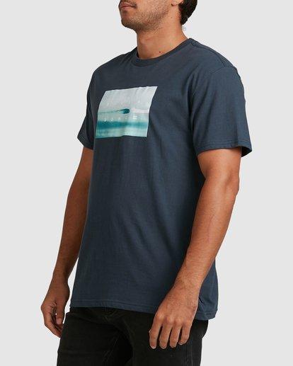 4 Scenic Short Sleeve Tee Blue 9508023 Billabong