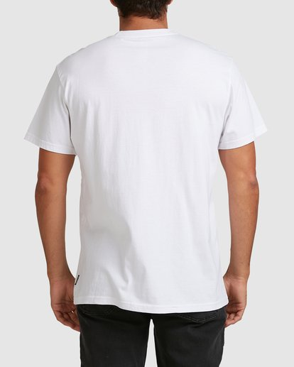 5 Scenic Short Sleeve Tee White 9508023 Billabong
