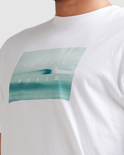 6 Scenic Short Sleeve Tee White 9508023 Billabong