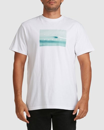 3 Scenic Short Sleeve Tee White 9508023 Billabong