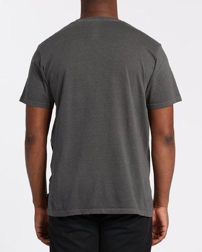 2 Zafa Short Sleeve Tee Grey 9508037 Billabong