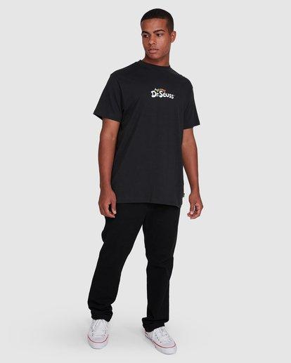 6 Dr. Suess Short Sleeve Tee Black 9508060 Billabong
