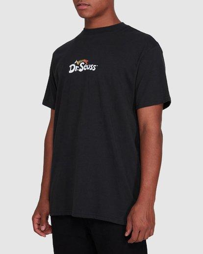2 Dr. Suess Short Sleeve Tee Black 9508060 Billabong