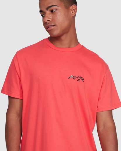 4 Dr. Seuss Truffula Fade Short Sleeve Tee Red 9508062 Billabong