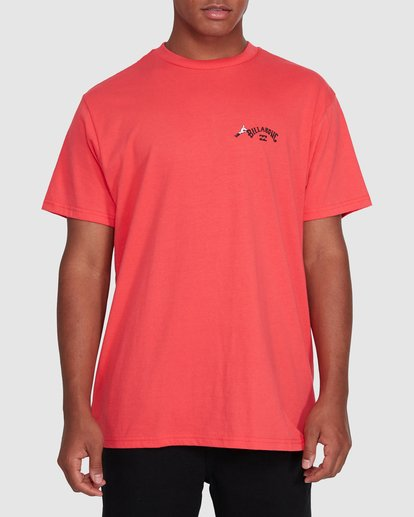 0 Dr. Seuss Truffula Fade Short Sleeve Tee Red 9508062 Billabong