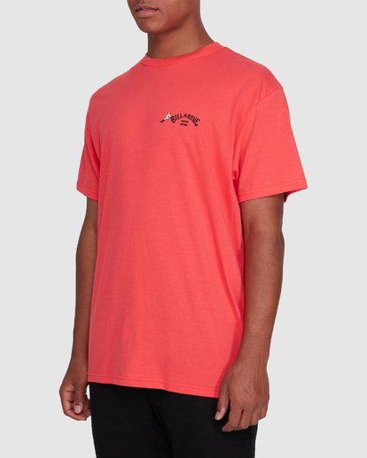 2 Dr. Seuss Truffula Fade Short Sleeve Tee Red 9508062 Billabong
