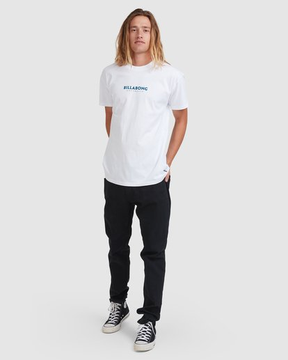 6 Smithed Tee White 9508080 Billabong