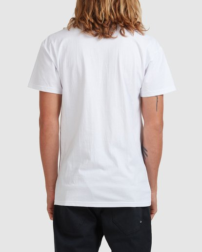 2 Smithed Tee White 9508080 Billabong