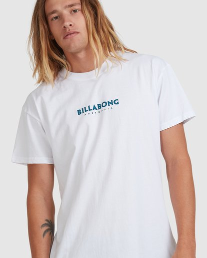 3 Smithed Tee White 9508080 Billabong
