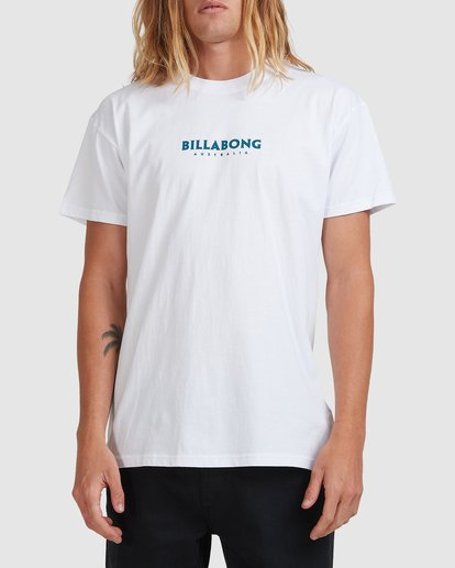 0 Smithed Tee White 9508080 Billabong