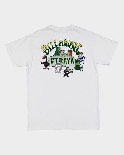 5 Straya Mate Tee White 9508084 Billabong