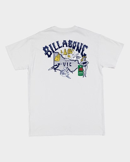 5 VIC State Mate Tee White 9508087 Billabong